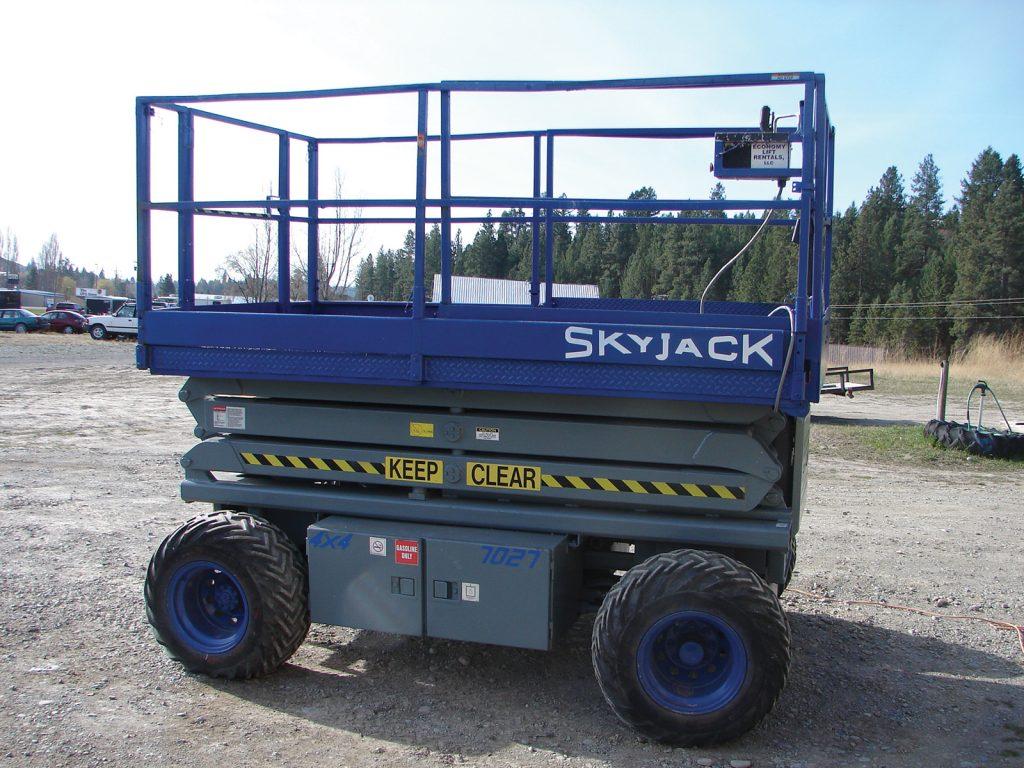 Skyjack 4WD Scissor Lift - North 93 Rentals - Eureka, MT